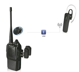 Wholesale Two Way Radios For Sale - 2017 Hot Sale Handheld Radio Bluetooth Adaptor Apply to BaoFeng TYT Walkie Talkie Flashlight Portable Two Way Radio Only for: K intercoBa