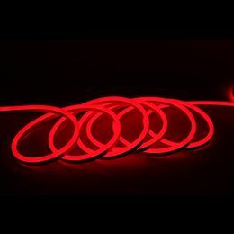 Wholesale Led Soft Neon - 12V 25 cm cutting unit LED flexible neon lights 120led m soft tube neon flex light strip rope lighting neon sign waterproof IP68