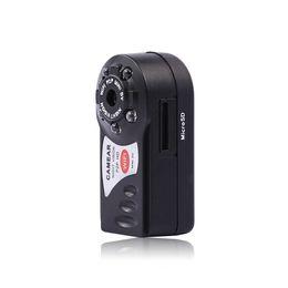 Wholesale Used Night Vision - New Q7 Mini WiFi DVR Video Camera Recorder Wireless WiFi IP Camcorder Night Vision Camera Motion Detection Built-in Microphone