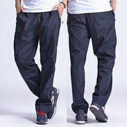 Wholesale Men Leisure Pants - Wholesale-2016 New Men's Quick Dry Pants Men leisure Pants Trousers & Sweatpants tatting Pants waterproof Plus Size pant man 3XL,YA078