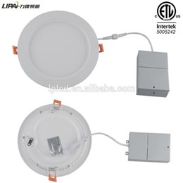 Wholesale Dimmable Led Csa - LIPAI 4'' led dimmable panel light iron driver junction box cetl etl cul csa 3 years warranty