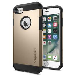 2019 iphone 6s celular Für samsung s8 plus sgp rüstung case für iphone x / xs xr max 8 7 6 6 s plus 5 samsung s8 s8plus tpu pc dual schicht handy case abdeckung opp taschen