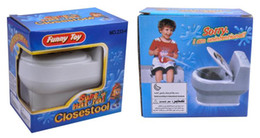 Wholesale red clay pottery - April Fool's Day gift ideas novelty gadgets outlandish spoof entire toy mud nose spray toilet
