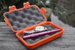 Wholesale Storage Box Seal - Outdoor Waterproof And Shockproof Storage Box Sealed Container Box L Size Khaki Black Orange A290