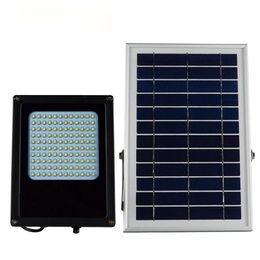 Wholesale Wholesale Solar Leds - LED Solar Lamp Security Solar Sensor Light 120 LEDs Waterproof Outdoor Garden street Yard Solar Wall Lamp White