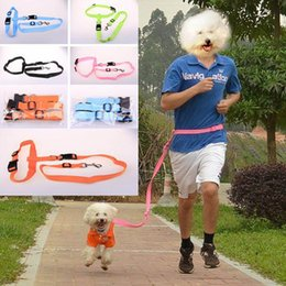 Wholesale Nylon Dog Leash Harness - Estrella Nylon Running Pet Dog Leash Rope Training Slip Adjustable Traction Collar Rope Dog Harness Training Walk