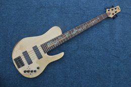 Wholesale Chinese Bass Instruments - Chinese OEM Music Instruments 5 string bass Guitar butterfly bass guitar Electric Guitar For Sale
