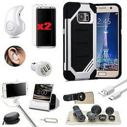 Wholesale Monopod Case - 11 x Accessory lot for Samsung galaxy s8 Case Charger Wireless Headset Monopod Lens For Samsung Galaxy S8