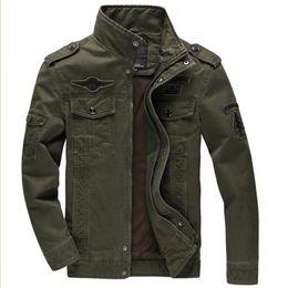 Wholesale Men Army Uniform Coat - Best Jacket GERMAN ARMY CLASSIC PARKA MILITARY COMBAT MENS JACKET Men's Army Combat Uniform Coat chaqueta hombre