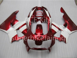 Wholesale Honda Cbr Gifts - 3 free gifts Motorcycle Fairing kit For HONDA CBR900RR 96 97 CBR 900RR 893 1996 1997 ABS Fairings set White Red AS2