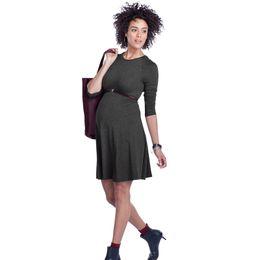 42368f51ff5 High Elastic Knee-Length Pregnancy Dresses Clothes for Pregnant Women  Elegant Maternity Dress Office Vestidos Formal Wear