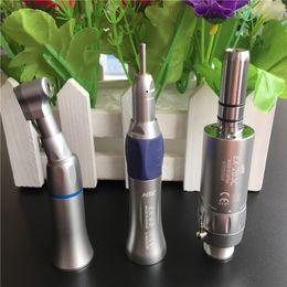Wholesale Dental Borden - Fast Shipping NSK style Dental Slow Low Speed Handpiece Complete Kit EX-203 Set Borden 2 Holes   4 Holes
