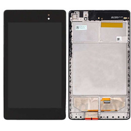 Wholesale Asus Google Nexus Lcd - Wholesale- For ASUS Google Nexus 7 2nd ME570 ME571 Gen 2013 wifi version LCD Display Panel + Touch Screen Digitizer Sensor Assembly + Fra