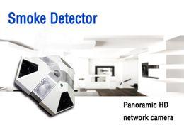 Wholesale Ip Camera Motion Detector - Newest Wireless Wifi Hidden Camera, P2P Spy Camera Smoke Detector,1080P For iphone android Windows IP camera spy camera