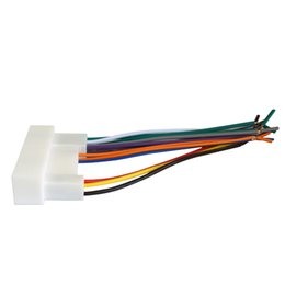 Wholesale Dvd Elantra - LEEWA Car Radio Stereo Wiring Harness Adapter Plug For Hyundai IX35 Elantra Santa Fe Sonata Aftermarket CD DVD Stereo Installation SKU#:3350