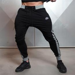 Wholesale Workout Cloths - Wholesale-New Arrivals 2016 Year Men's Body Engineers Workout Cloth Sporting Active Cotton Pants Men Jogger Pants Sweatpants Bottom Leggin