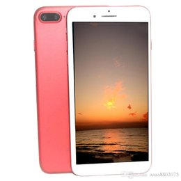 Wholesale Hdc 3g - DHL Cheap HDC i7 Clone 3G WCDMA Quad Core MTK6580 512MB 8GB Android 5.1 4.7 inch IPS 960*540 HD WiFi 8MP Camera Nano-SIM Card Smartphone