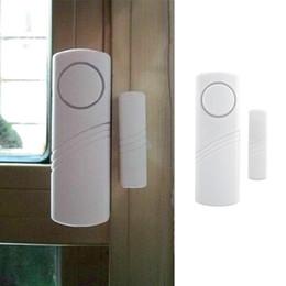 Wholesale Home Alarm Magnetic Window Sensors - DH188 WIRELESS Doors and Window Alarm Windows Menci Anti-theft Home Shops Security Small Size Multi-purpose Super Alarm Magnetic Sensor AAA