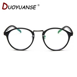Wholesale Polycarbonate Lights - Wholesale- Myopia restores ancient ways round flat lens polycarbonate super light mirror frame 066 small and pure and fresh framework