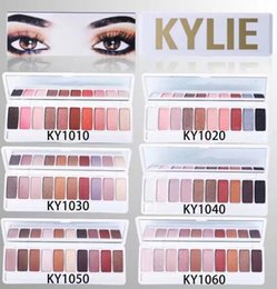 Wholesale Good Quality Makeup Palettes Wholesale - FREE SHIPPING HOT good quality Lowest Best-Selling good sale Newest MAKEUP KYLIE 10 colors EYE SHADOW palette + gift
