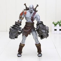 Wholesale Ultimate Action Figures - 18cm God of War 3 Ghost of Sparta Ultimate Kratos PVC Action Figure Collection Toy Doll