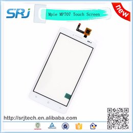 """Wholesale Touchscreen Parts - Wholesale-High Quality 5"""" White Mpie MP707 Touch Screen Digitizer Glass Sensor External Touchscreen Replacement Parts 100% Tested"""