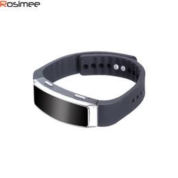 2019 mp3 браслет Wholesale-Fashion Style Sport Bracelet 8GB Digital Voice Recording Bracelet Wristband MP3 Player Digital Audio Dictaphone Espia Gravador