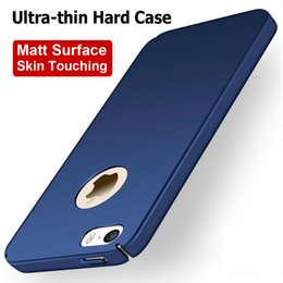 Wholesale Matt Paint - Case for iPhone 5S 5 SE Hard PC matt surface skin touching feel Three layers painting covers on iPhone cases 5 5S SE
