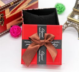 Wholesale Jewelry Packaging Bracelet Box Packing - Love hearts design watch boxes 7 colors elegant fashion watches box package bowknot Jewelry Necklace Bracelet Box christmas gift packing