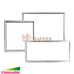 Wholesale 2x2 Led Panel - LED Panel Light 1x1 1x2 2x2 12W 18W 24W 36W 48W Dimmable Recessed   Suspended   Surface Mounted LED Ceiling Lamp