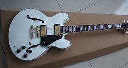 Wholesale 335 White - New arrive custom shop 50th Anniversary 58 335 electric guitar,White 335 Jazz guitar,Free shipping