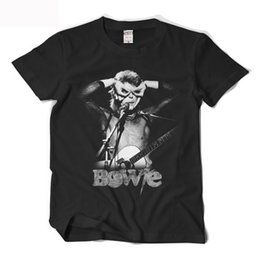 Wholesale David Bowie T Shirt - David Bowie 3D Print T Shirt Homme High Quality O-neck Cotton Short Sleeve T-shirts Hip hop Streetwear Tees Tops Special Gifts