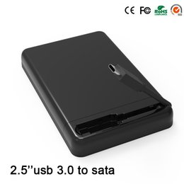 Wholesale Fast Hdd - Wholesale- 2015 hot black portable tool free Blueendless 2.5'' hdd box fast speed USB 3.0 to SATA II hdd enclosures Type-C hdd caddy MR23LC