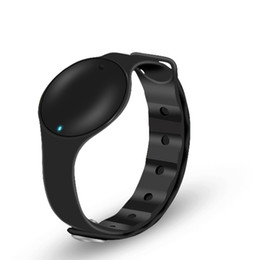 Wholesale Cheapest Outdoor Cameras - Promotion MiLike MLW03 cheapest Smart bracelet band silicon MLW03 smartband smart sport bracelet wristband gift for men women couples
