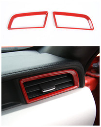 Wholesale Decorative Vent - Car dashboard vent decorative frame Trim for Ford mustang 2015-2017