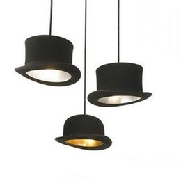 Wholesale Modern Cafe Bar - Jeeves And Wooster Hat Pendant Lights Aluminum Lamp Innermost Modern Pendant Lamp by Jake Phipps Dinning Room Cafe Bar Lamps Hanging Light