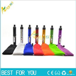 Wholesale Gas Pipe Metal - click N vape sneak A vape vapor Herbal portable Vaporizer sneak a toke smoking metal pipe with built-in Wind Proof Torch Lighter
