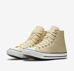 Wholesale White Sneakers Low Price - 2017 Promotion Drop shipping All Size 35-45 Factory Price canvas shoes Men And Women,High Low Top Style Classic Canvas Shoes Sneakers CNT101