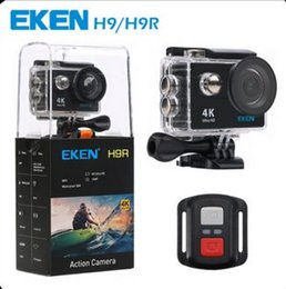 Wholesale Wholesale Used Electronics - Original EKEN H9R 4K Action Camera With Case Ultra HD 4K WiFi 1080P 60fps 170 degree Cam underwater waterproof camera