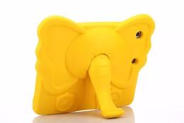 Caja de espuma gruesa para niños online-Nuevo Para Ipad Mini Estuche Niños Coloridos Espuma Gruesa EVA A prueba de golpes Espuma Elefante Estuche Animal Para iPad mini 1 2 3 4
