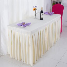 Wholesale Table Clothes For Weddings - Tablecloth Table Cover Multi-color for Banquet Wedding Party Decoration Tablecloth Clothing Wedding Tablecloth Table skirt Home Textile