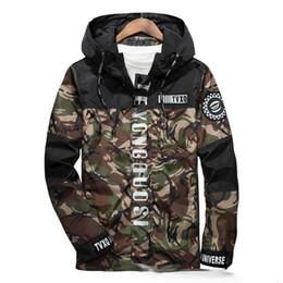 Wholesale New Fashion Camouflage Clothing - 2017 New Fashion Mens Spring Brand Clothing 3m Reflective Male Camouflage Jacket Coat