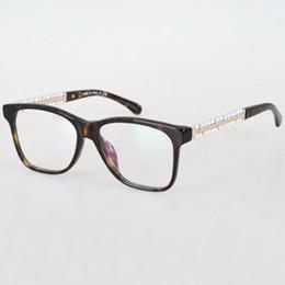 Wholesale Woman Ch - Sale 2017 New Pearl Arms CH 3368 Oculos De Grau Femininos Fashion Lady Eyeglasses Frame Brand Retro Glasses Frame Women Optical Frame