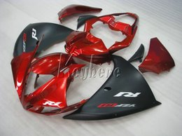 Wholesale Customize Yzf R1 - Injection molded free customize fairing kit for Yamaha YZF R1 09 10 11-14 wine red black fairings set YZFR1 2009-2014 OR08