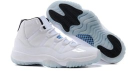 Wholesale Lace Fr - With Box + 2017 Legend Blue Basketball Shoes (11)XI Good Quality Sports Shoes Bigkids Trainers Athletics Boots Retro 11 XI Sneakers fr 36-47