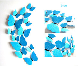 Wholesale Simulation Butterfly - The simulation of magnetic butterfly butterfly, decorative gifts, garden crafts, plastic