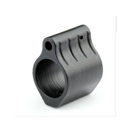 Wholesale Micro Tactical - Hunting Tactical AR15 Steel Gas Block Micro Low Profile .750 Steel 223 5.56 With Roll Pin Gas Ports Controller AR Rifle Accessories