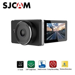 esportes escondidos da câmera Desconto Original sjcam m30 sjdash wi-fi dashcam dvr carro novatek nt96658 1080 p traço cam 3.0 polegada dvr-2.4ghz conexão wi-fi sem fio / 140gra
