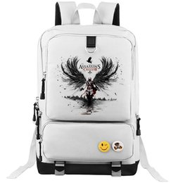 Wholesale tennis bags sale - Assassins Creed backpack Hot sale school bag Assassin cool daypack Game schoolbag Outdoor rucksack Sport day pack