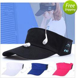 Canada Casque sans fil Bluetooth Casque 2 in1 Casque MenaBluetooth S Femme Sports de plein air Musique style casquette casque pour xiaomi iphone Offre